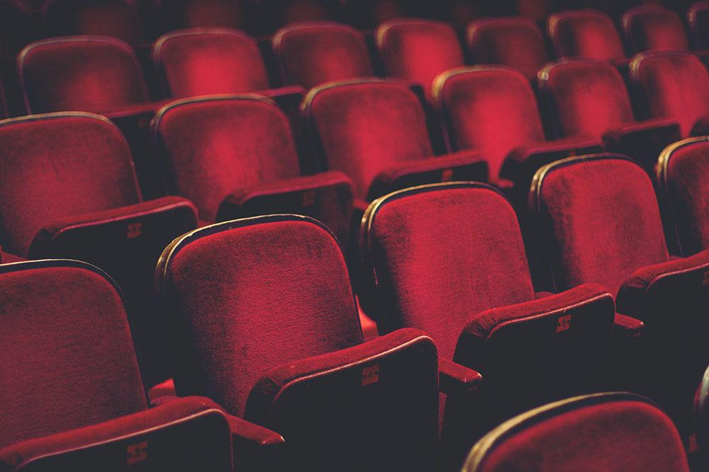 Red Velvet Concert Seats